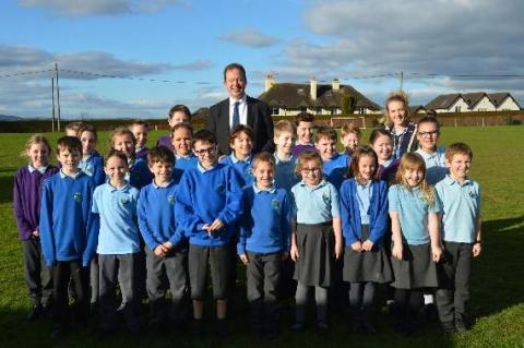 Jesse Norman MP visits Ashfield Park School